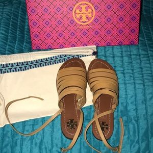 Brand new Tory Burch sandals
